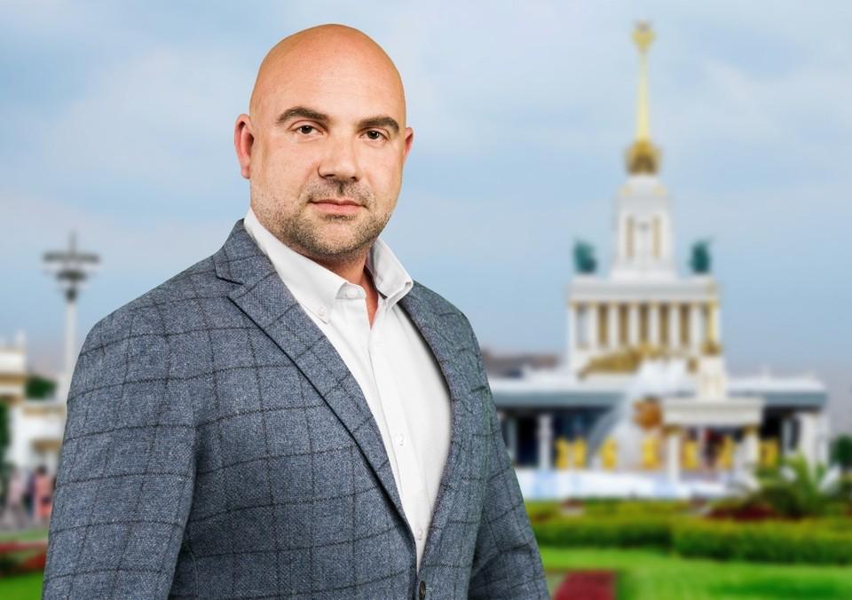 Тележурналист и лидер общественного Движения Тимофей Баженов. Фото: Максим МАНЮРОВ