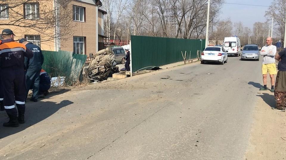 Молодой водитель погиб во время ДТП. Фото: управление ГИБДД Хабаровского края.