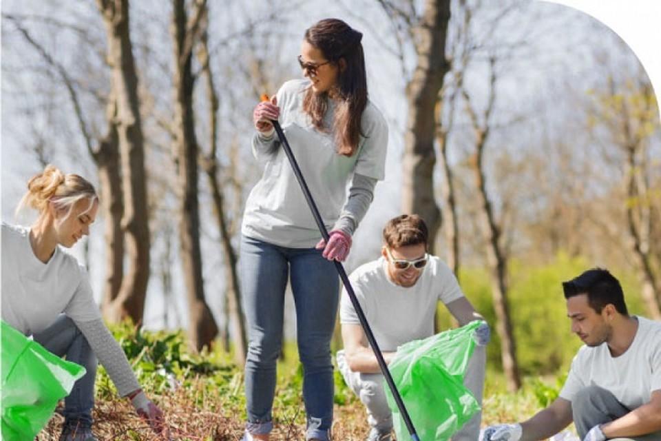 Дамбу в Хабаровске очистили от мусора по технологии сортировки отходов