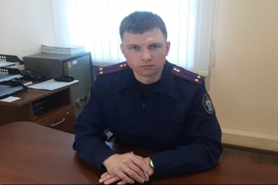 Руководитель следственного отдела навестил в больнице мальчика, пострадавшего от нападения собаки под Новосибирском. Фото: СК РФ по НСО.