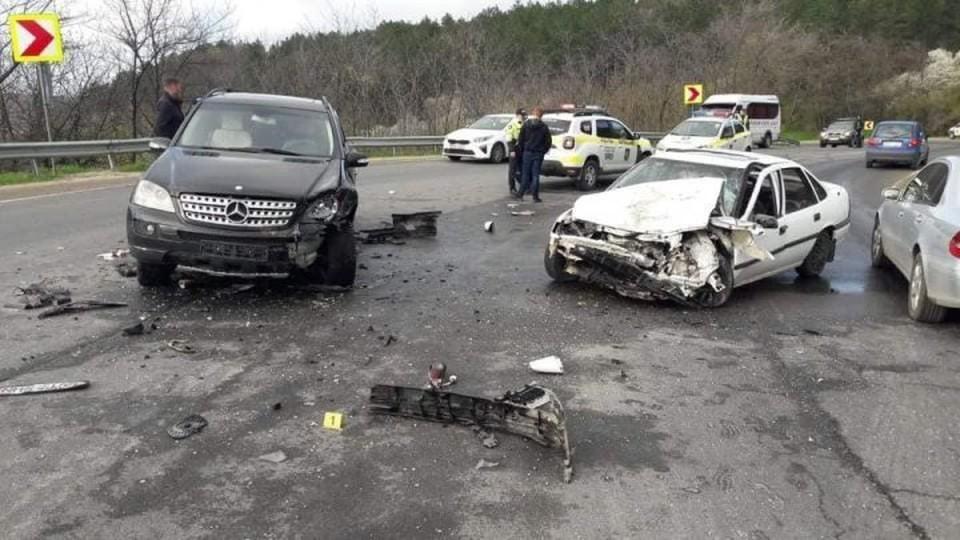 К счастью, в аварии никто не пострадал (Фото: info curierul hincesti).
