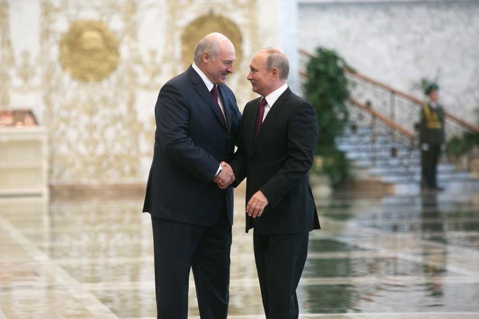Лукашенко и Путин договорились снова провести очередные переговоры летом 2021 года.