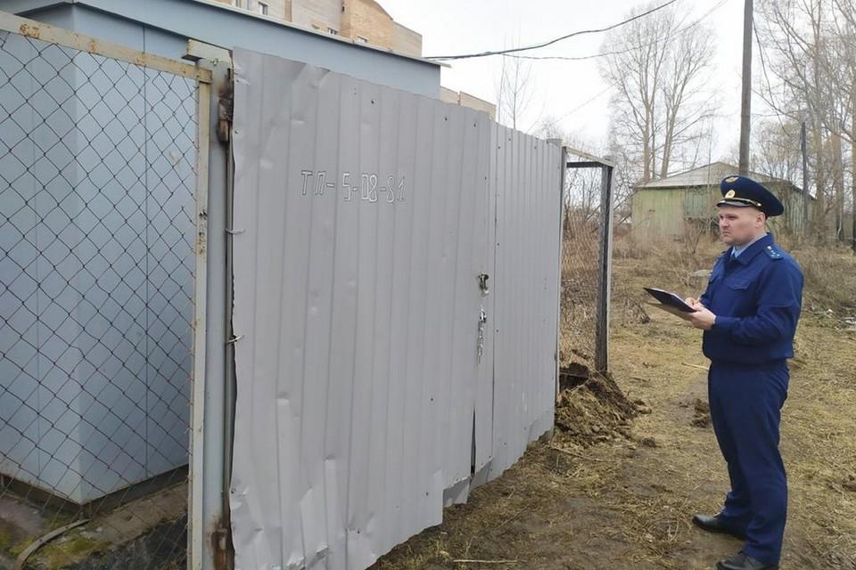 В Лесосибирске 12-летняя девочка получила разряд электротоком. Фото: пресс-служба прокуратуры