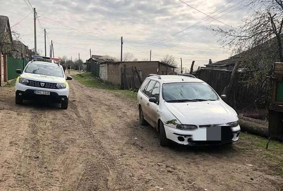 Автомобиль был обнаружен в селе Ясная Поляна в Кагуле. Фото: aif.md