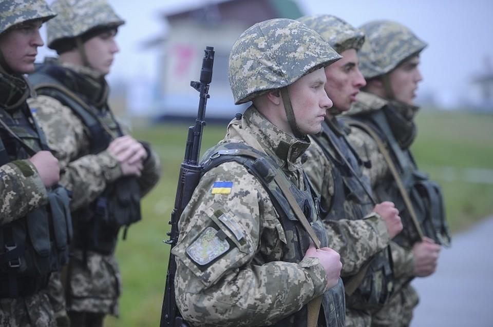 20 украинских солдат дезертировали из части (Архивное фото). Фото: Штаб ООС