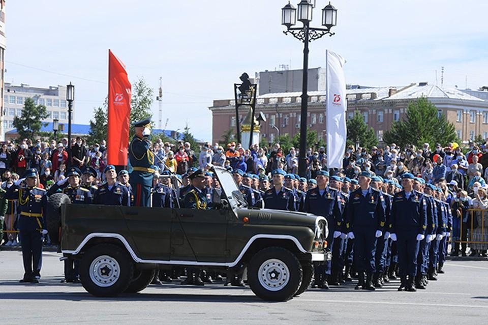 В первые дни майских праздников начнутся репетиции военных парадов к 9 Мая.