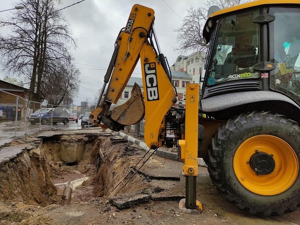 В 2021 году в план включены перекладки по 20 участкам на водопроводных сетях и 19 – на канализационных. Фото: Нижегородский Водоканал