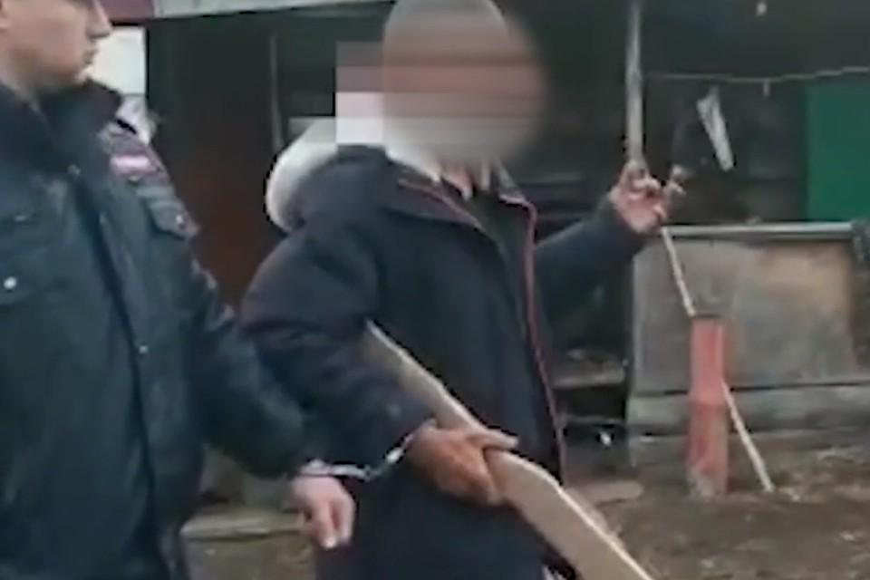 Сторож показал на видео, как убивал главу ФСИН Забайкалья Евгения Шихова. Фото: СУ СК России по Забайкалью