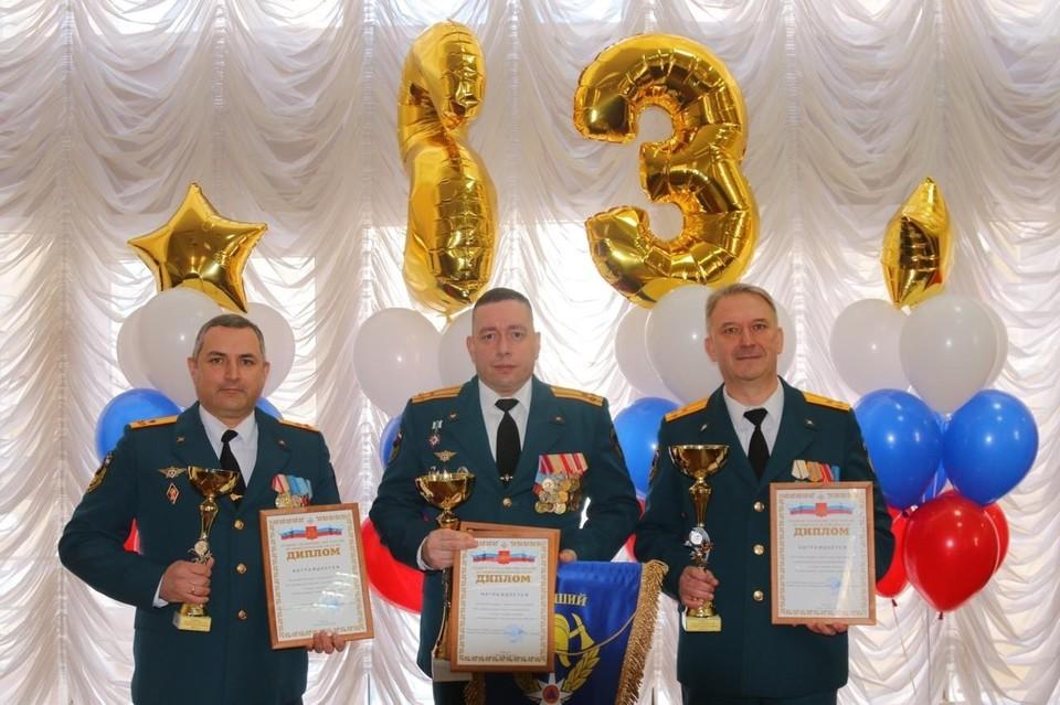 Не только пожарно-спасательные подразделения становятся лучшими, у пожарных есть и личные достижения. Фото: предоставлено пресс-службой Дзержинска