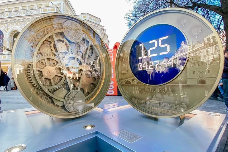 Часам обратного отсчета после 800-летия Нижнего Новгорода найдут новое применение
