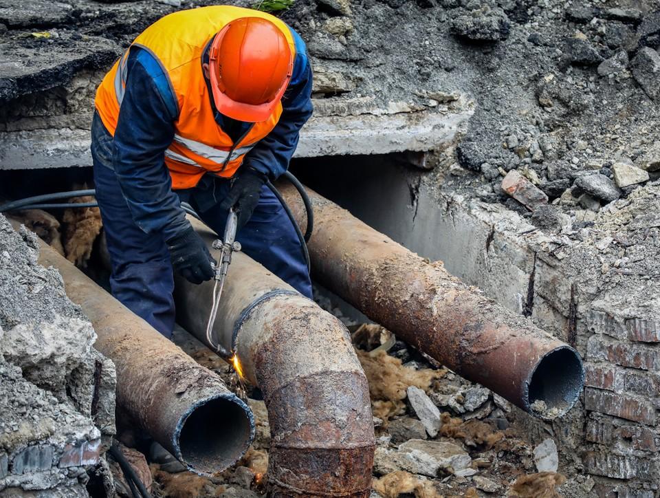 В рамках летней ремонтной кампании ДГК заменит в Хабаровске более 6 км трубопроводов. Фото: ДГК