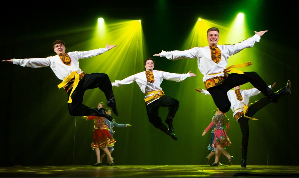 Гала-концерт ежегодного фестиваля «Студенческая весна-2021». Фото: Денис СКОРОБОГАТОВ.