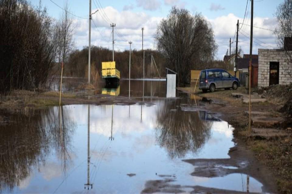 В Кировской области уровень воды в Вятке достиг отметки +388 см. Фото: admkirov.ru