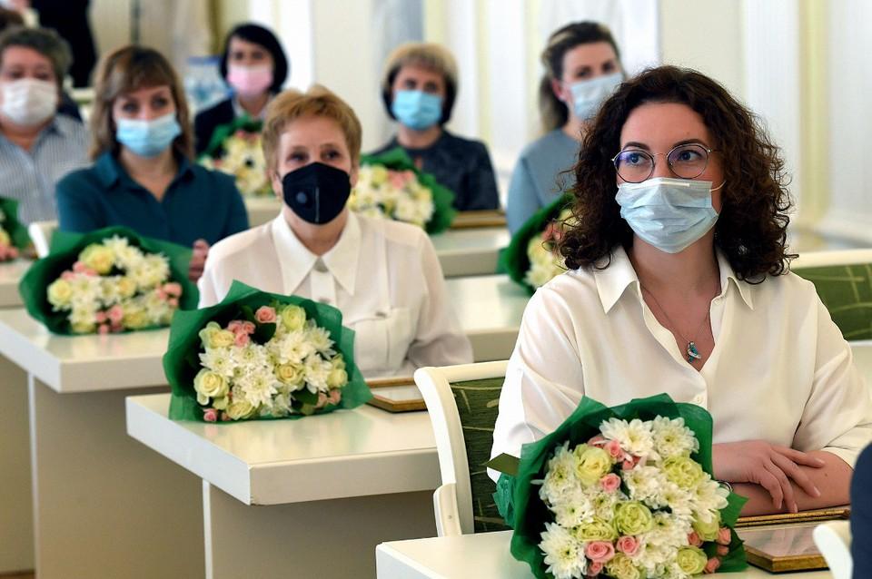 В большом зале правительства собрали представителей достойнейшей профессии - работника скорой помощи. Фото: ПТО