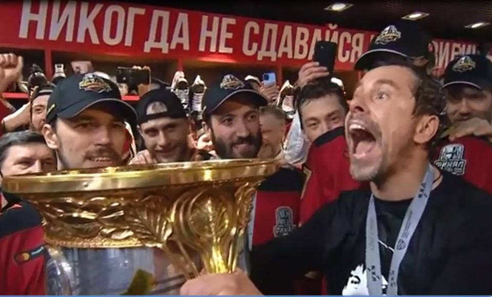 Фото: Телеканал KHL
