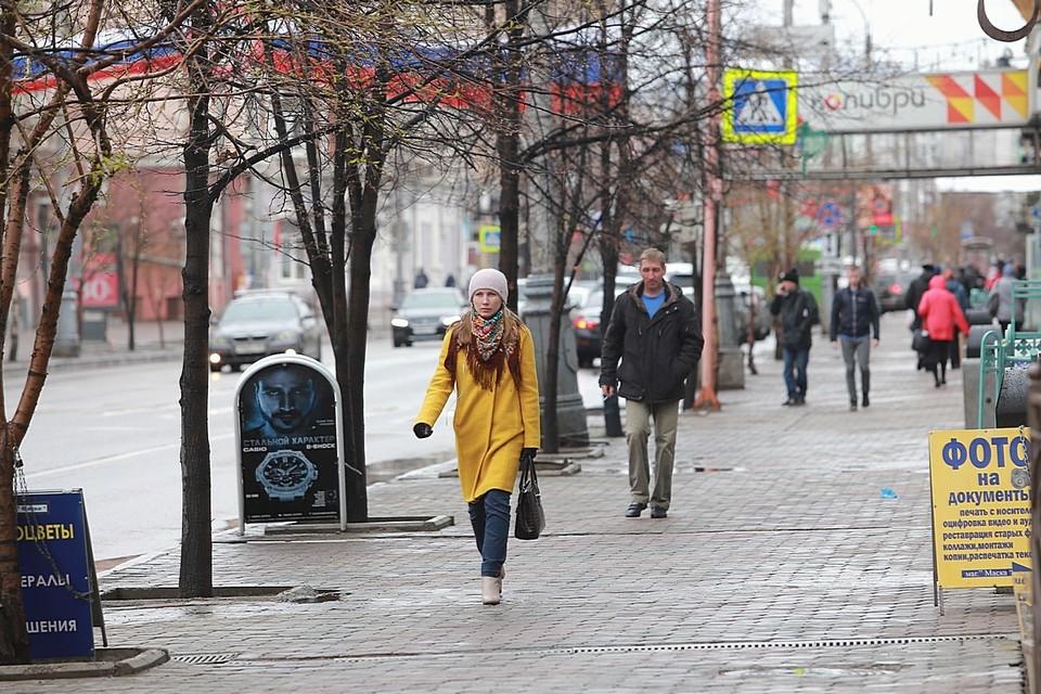 Погода в Красноярске на 1 мая 2021: ожидается потепление до +14 и дождь