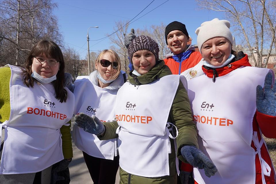 En+ проводит субботники в восьми городах Иркутской области