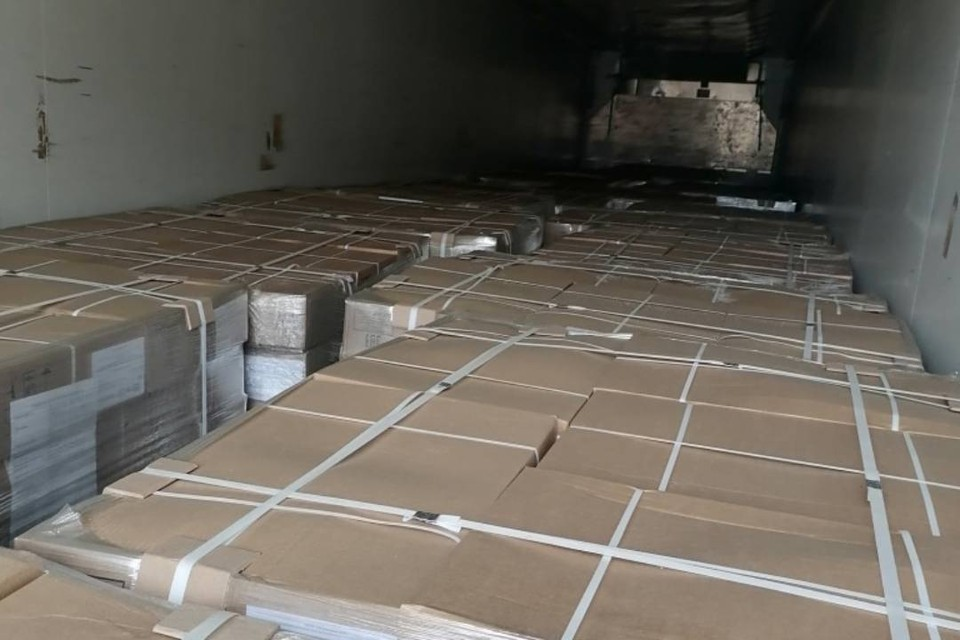 Грузовик с 19 тоннами мяса остановили в Иркутской области. Фото: Управление Россельхознадзора по Иркутской области и Республике Бурятия