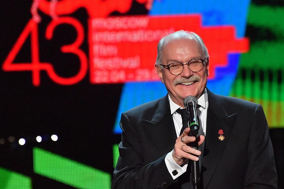 Президент Московского международного кинофестиваля, режиссер Никита Михалков.