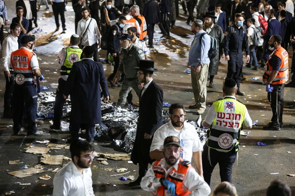 В Израиле 38 человек погибли на религиозном празднике при обрушении трибуны