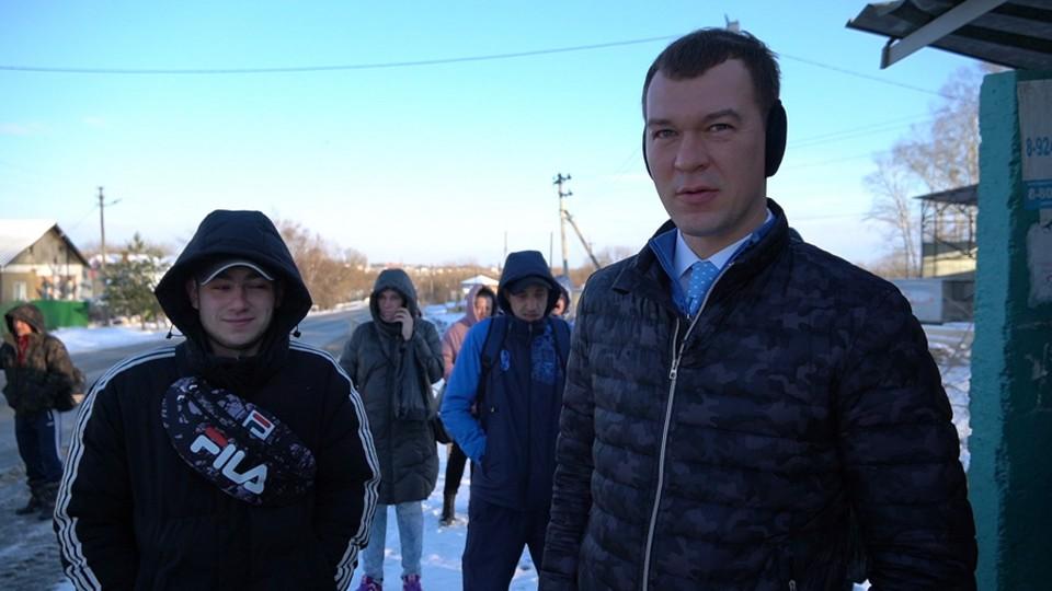 Михаил Дегтярев объявил о разработке масштабной программы обновления общественного транспорта в муниципалитетах