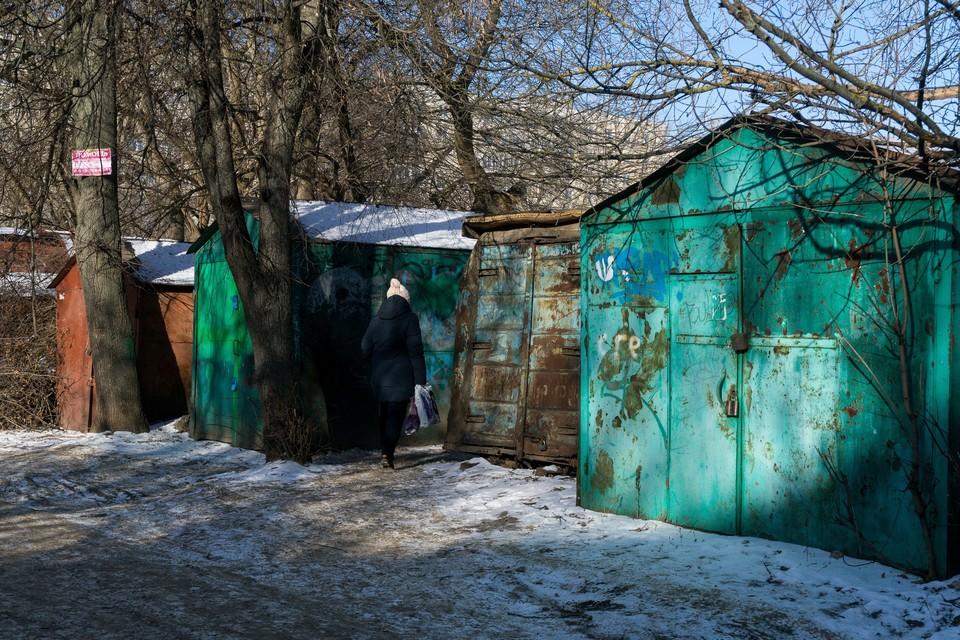 В Заводском районе Орла демонтируют 15 гаражей