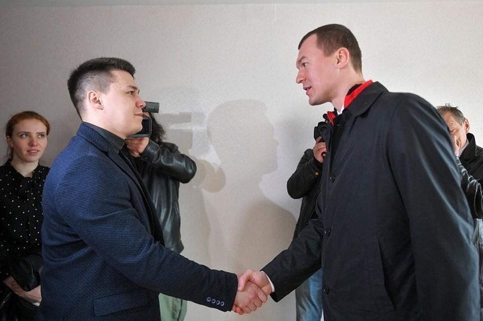 Служебное жилье в Хабаровске специалисты сферы здравоохранения в таком масштабе не получали более десяти лет.