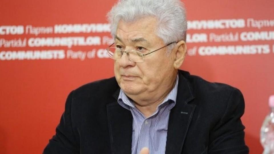 Лидер Партии коммунистов Владимир Воронин выпустил пресс-релиз, в котором обвинил Майю Санду и Домнику Маноле в том, что они захватили государство. Фото: diez.md