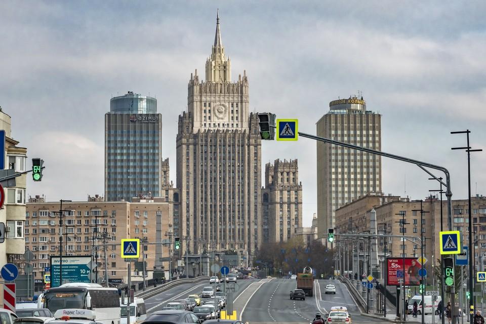 В МИД РФ назвали истинную цель санкций ЕС.