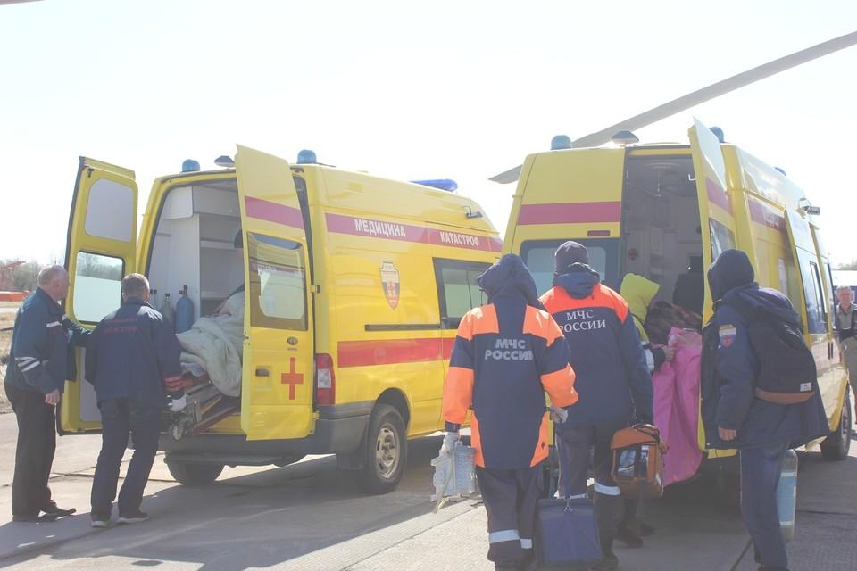Трое человек получили травмы, двое находятся в тяжелом состоянии