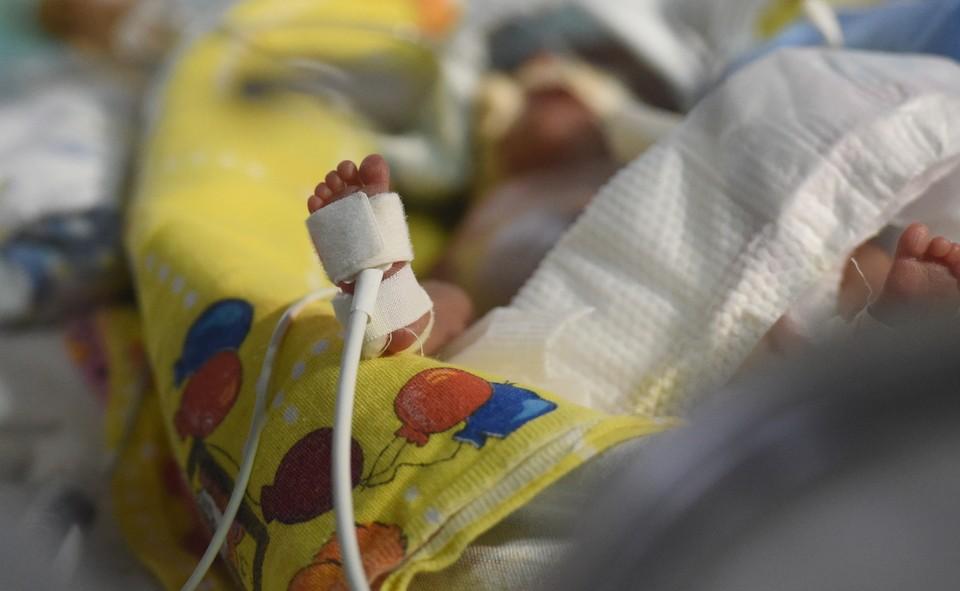 Медикам удалось спасти новорожденного.
