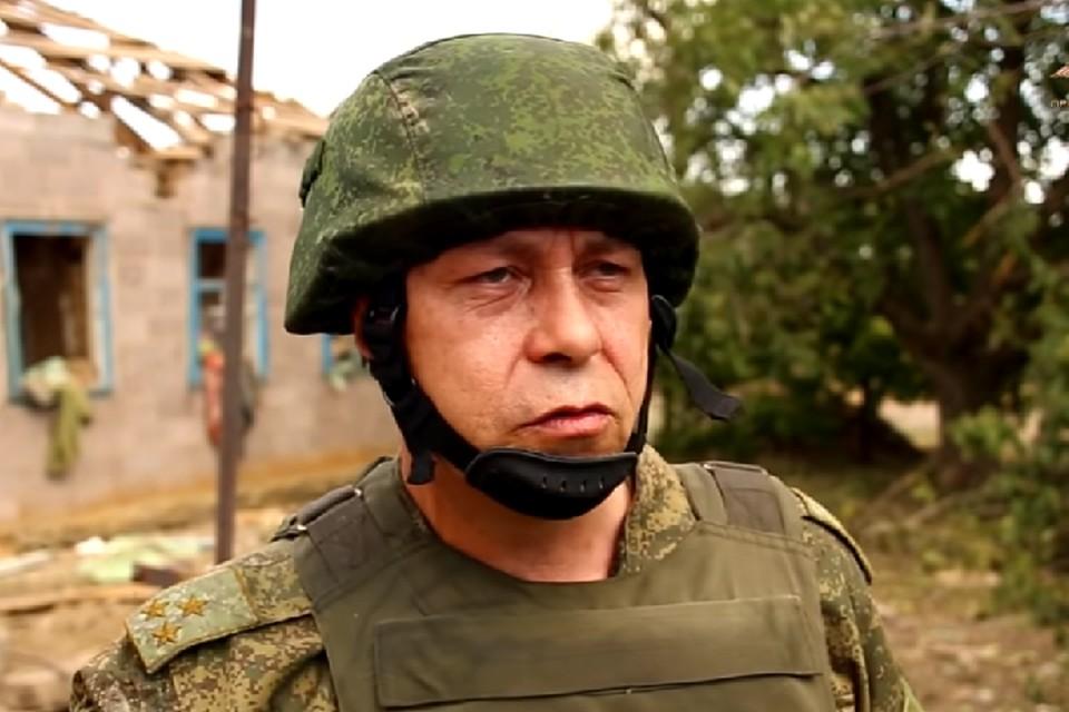 Эдуард Басурин считает, что ВСУ дистанционно заминировали местность под Горловкой. Фото: пресс-служба УНМ ДНР