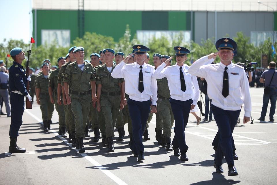 В Параде в Ставрополе задействуют 80 единиц техники
