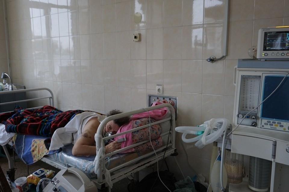68 заболевших пневмонией нуждались в госпитализации