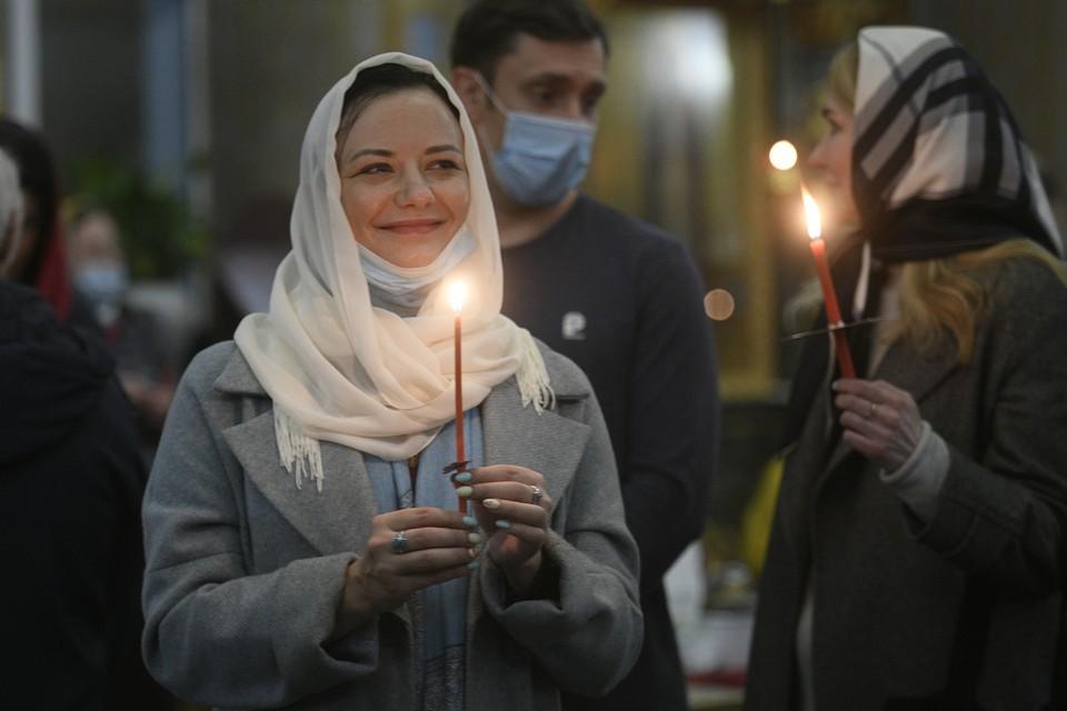 В праздновании Пасхи в храмах России приняли участие 1,6 миллионов верующих
