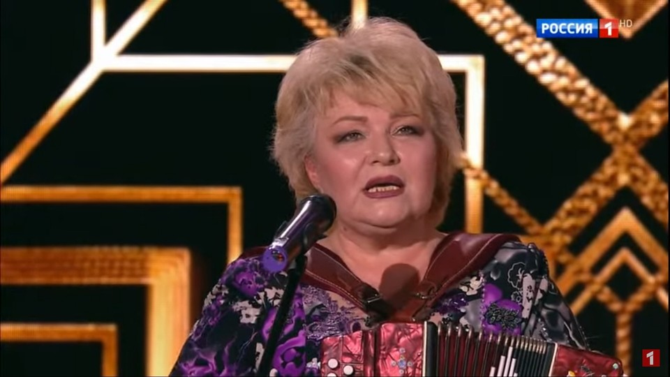 Народная артистка Удмуртии Валентина Пудова спела на ток-шоу «Привет, Андрей!»