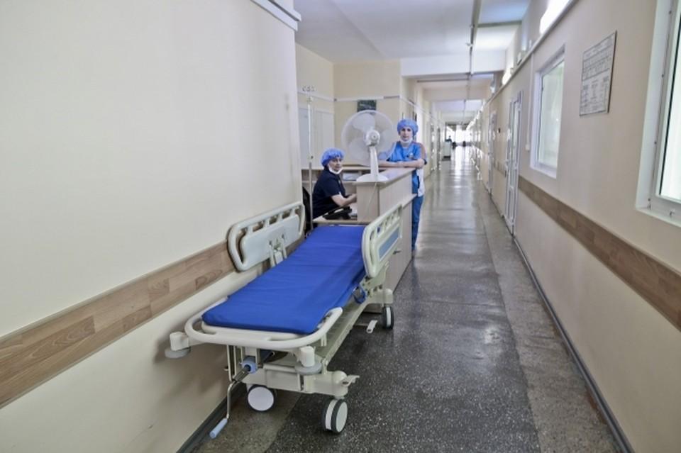 В больницах остаются 99 человек.