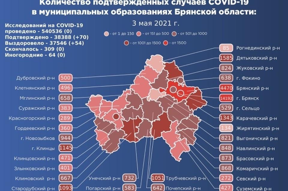 Фото: Оперативный штаб Брянской области.
