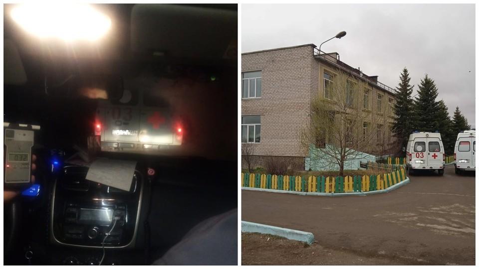 В отношении руководства больницы, где работает водитель, будет также проведена проверка по факту случившегося. Фото: управление ГИБДД по Челябинской области
