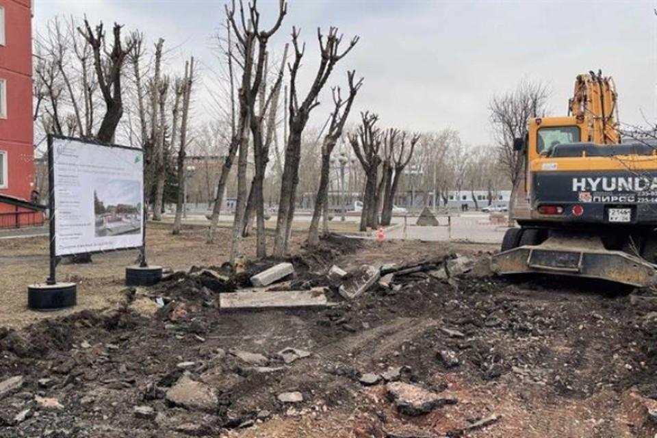 Бульвар Маяковского и площадь на остановке «ТЮЗ» благоустроят в Красноярске