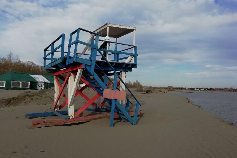 Подрядчик займется содержанием пляжа, туалетов, душа, раздевалок и т.д.