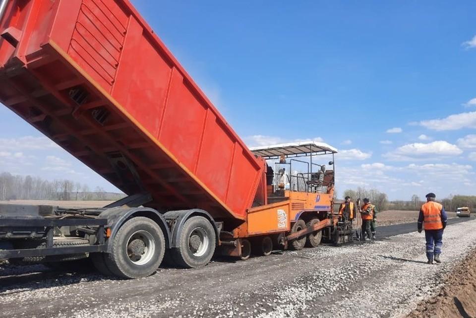 На Брянщине дорогу Трубчевск-Погар отремонтируют за 115 миллионов рублей. Фото: пресс-служба управления автомобильных дорог Брянской области.