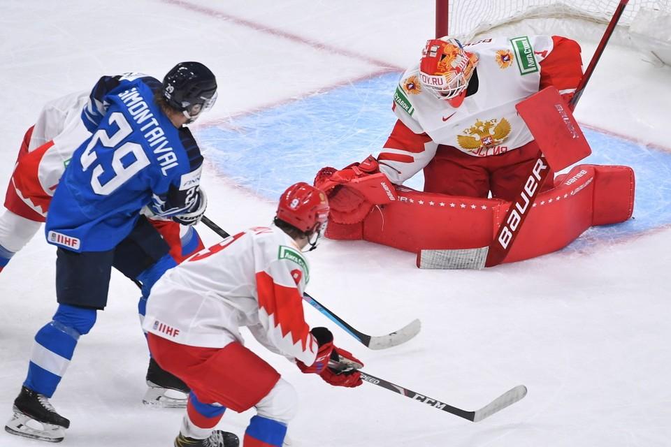 Россияне будут играть с Финляндией.