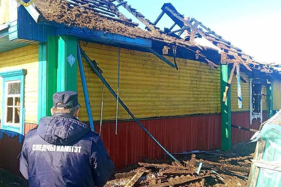 Следственный комитет проводит проверку по факту смерти пенсионеров во время пожара. Фото: СК