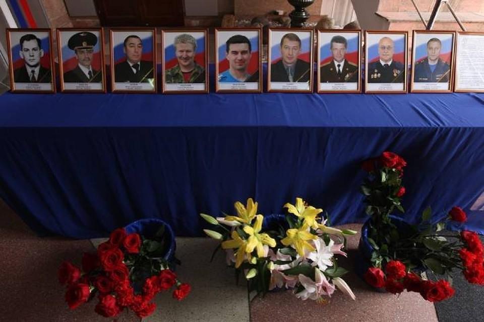 """В Иркутской области почтили память спасателей и летчиков, погибших 8 лет назад при крушении вертолета МИ-8. Фото: irk38mchs в """"Инстаграме""""."""