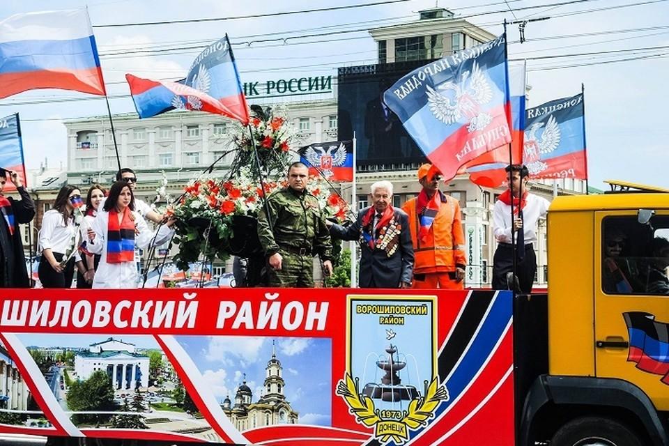 11 мая в столице отметят семилетие создания государства (архивное фото)