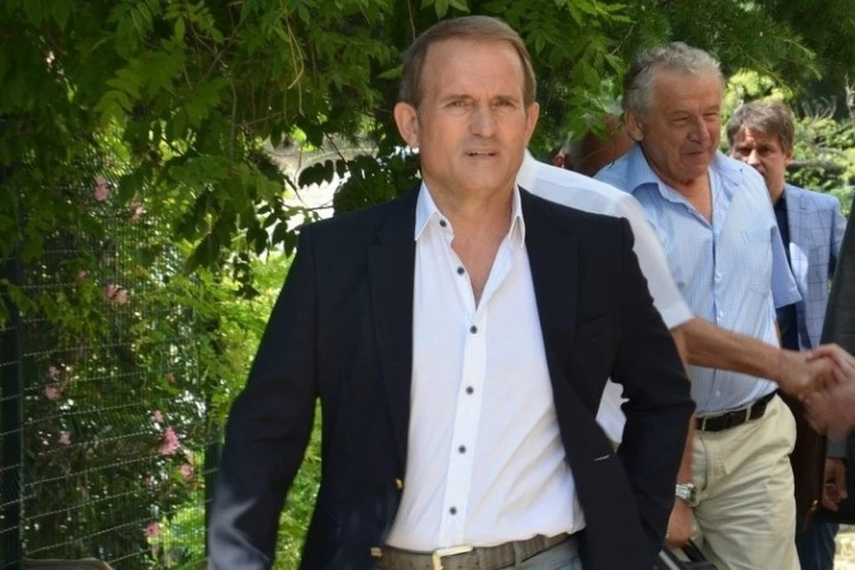 Виктор Медведчук приезжал отдыхать в Крым в августе прошлого года. Фото: личная страница Виктора Медведчука на Facebook