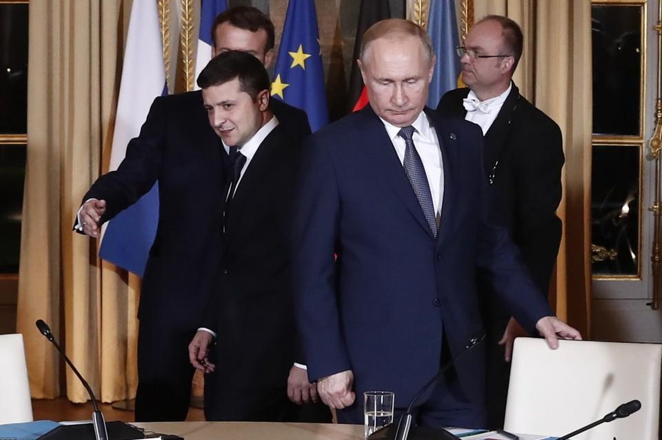 Зеленский предложил Путину провести переговоры в «любой точке Донбасса»