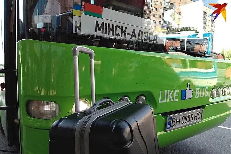 Из Беларуси на отдых в Украину возят на автобусах