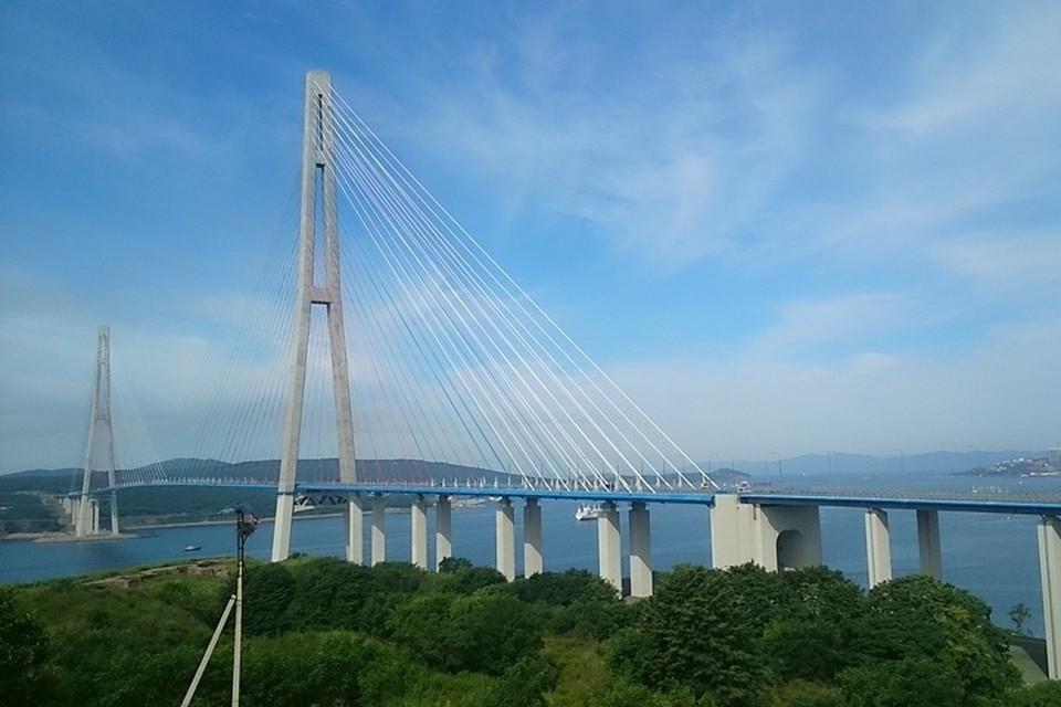 30 мая во Владивостоке ограничат движение по Русскому мосту.